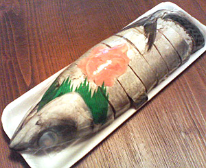 鯖寿司(サバの姿寿司)