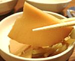 アジ煮干で筍(たけのこ)の煮物